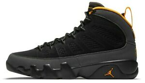 Air Jordan 9 University Gold Dark Charcoal Grey Retro CT8019-070