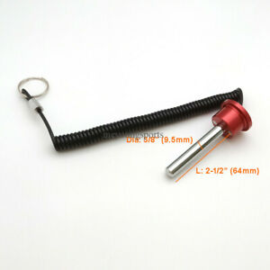 """3/8"""",2-1/2"""" Rod Aluminum Magnetic Weight Stack Pin Gym Fitness Selector Pin"""