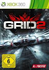 XBOX 360 Spiel GRID 2 II - Limited Edition mit Anleitung guter Zustand + OVP