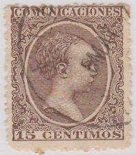 Stamp(SP29) 1889 Spain 15c Brown ow279