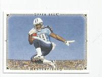 Chris Johnson Titans 2008 Upper Deck Masterpiece White Frame Rookie #38