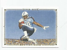 Chris Johnson Titans 2008 Upper Deck Masterpiece White Frame Rookie #38