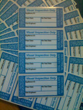20 X Passed Visual Inspection Pat Test Stickers labels