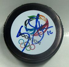 KEVIN SHATTENKIRK Signed 2014 SOCHI OLYMPIC HOCKEY PUCK! TEAM USA! 1002883