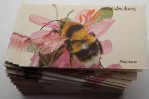 1984 Portugal Azoren, 50 Markenhefte Insekten, **/MNH, MiNr. 365 - 368, ME 700,-