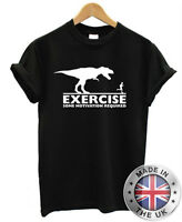 EXERCISE Some Motivation Required Funny Mens Womens T shirt S-XXL
