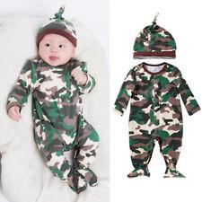 Jumpsuit Long Pants Newborn Baby Boy Girls Cotton Clothes Romper Bodysuit Outfit