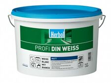 Herbol Profi DIN Weiss Innenwandfarbe 12.5 Liter (3,11?  / 1 Liter)
