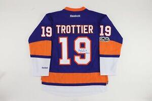 2017 Bryan Trottier AUTOGRAPHED Event Worn N.Y. Islanders Hockey Jersey