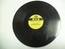 Hank Williams-MGM-78 RPM Record-Lonesome Whistle/Crazy Heart