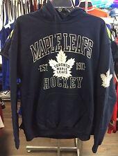 Toronto Maple Leafs Nhl Hockey Scimitar 100th aniversario hoodie sweatshirt XX-grande