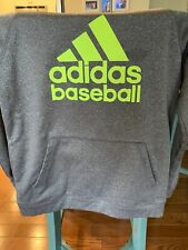 Adidas Baseball Dri Fit Long Sleeve Hoodie Size Youth Large