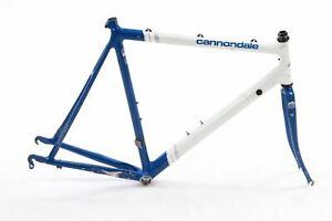 USED Vintage Cannondale 58cm Road Bike Frameset Threaded headset