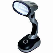 Amtech S1586 12 LED Desk Lamp LightWeight Portable Light Office