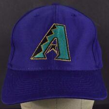 Purple Arizona Diamondbacks Embroidered baseball hat cap Adjustable Snapback