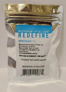 Rodan + Fields Redefine Macro Exfoliator Tip / New & Factory Sealed