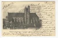 AK Villeneuve-sur-Yonne, Yonne, L´Eglise, 1904