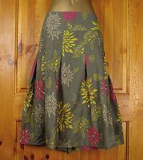 Debenhams Knee Length Floral Plus Size Skirts for Women