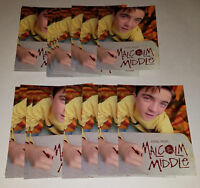 21 Music From Malcolm In Middle Promotional Cards Postcard Size UNUSED Lot
