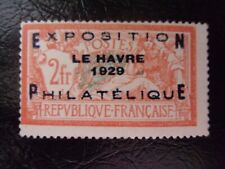 FRANCE EXPO DU HAVRE N° 257A NEUF GOMME SANS CHARNIERE NI TRACE SIGNE RICHTER