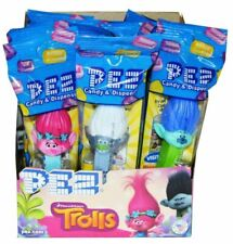 PEZ Candy Trolls Pez Dispensers - Pack of 12