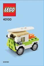 Constructibles® Surf Van Mini Model LEGO® Parts & Instructions - 40100