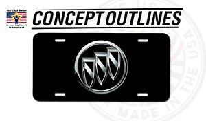 Buick Premium Aluminium License Plate Tag Custom For Car Room