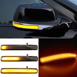 LED Dynamic Turn Signal Light Rear Mirror Indicator for Ford Explorer 2011-2019
