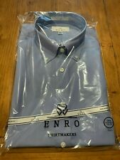 Enro EZCool Non-Iron Dress Shirt 16.5 35/36 Tall - Crocus Blue