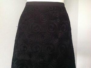 Monsoon Ladies Black Skirt.Size 8