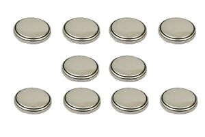 10 PCS New Original LIR2032 2032 3.6V Rechargeable Lithium Coin Cell Battery