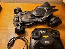 Air Hogs Batman V Superman Remote Control Rc Batmobile Spinmaster w Remote. A3