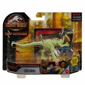 Jurassic World Attack Pack Coelurus - Camp Cretaceous Primal Attack Dinosaur Toy