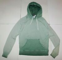 Zine Green Pullover Hooded Sweatshirt Size Small Brand New