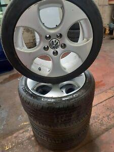 Volkswagen golf Mk5 Gti Genuine 17 Inch Alloy Wheels