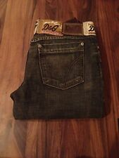 D&G Black Stonewashed Jeans Size 28