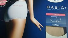 Sloggi Basic Maxi Brief 2pk SKIN UK: Size 20 B.N.I.B Ladies (12-24 in stock)