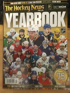 The Hockey News Yearbook 2021-22