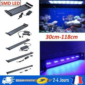 36/72/108/144/180 LED Eclairage Aquarium Poisson Rampe LED Eau Douce Lumière
