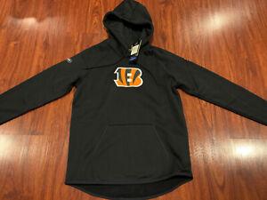 Under Armour Women's Cincinnati Bengals Combine Hoodie Sweatshirt Medium M NFL