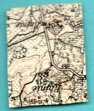 LATVIA LETTLAND MAP 5 KOPEKS 1919 SC. 1 USED ARMS 390