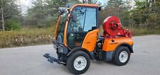2012 Holder C250 Diesel Snow Plow / Blower Tractor 50HP Kubota