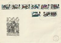 14 OCTOBER 1966 BATTLE OF HASTINGS NON PHOSHOR FIRST DAY COVER WANTAGE CDS