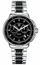 Tag Heuer Formula 1 Chronograph 72 Diamonds Black Unisex Watch CAH1212.BA0862 SD