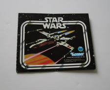 X-Wing 1978 Booklet Catalog Die Cast STAR WARS Vintage Insert Paperwork #2