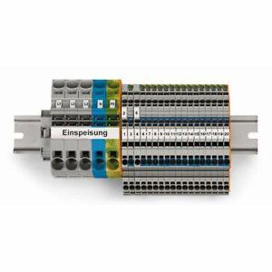 WAGO TOPJOB®S Hauptverteiler-Set 821-123 FI/LS Komplettpakett 4045454962319