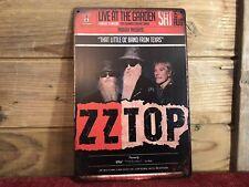 Zz Top Live Memphis Tn Vintage Tin Sign Tracker 8�x12� Man Cave Decor
