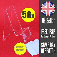 50x Mobile Cellulari Smartphone Display COMMERCIALE Perspex STAND W. prezzo tag titolare