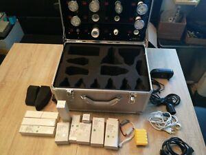 Präsentationkoffer Für LED Lampen Mit Watt Anzeige Und Zubehör