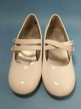 American Eagle 170087 Ari Mj Heel White + Glitter Heel Jr Girls Sizes 1 - 4 1/2
